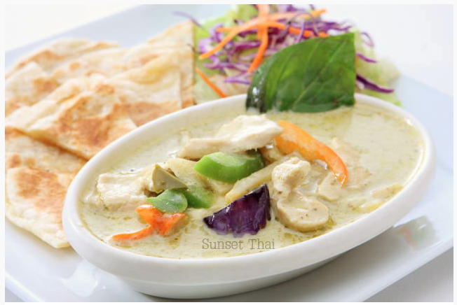 Roti Green Curry