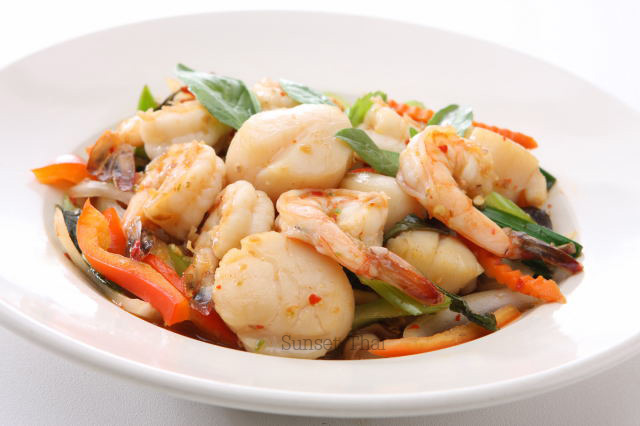 Spicy Shrimp Scallop